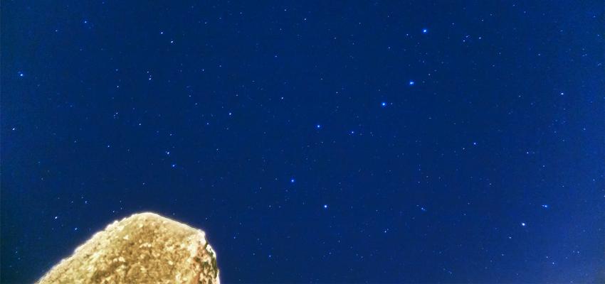 星空とアナゴ